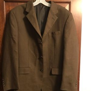 Men's Jones New York 40R Sports Coat Suit Jacket